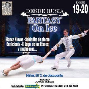 Fantasy On Ice - 25% En Boletería