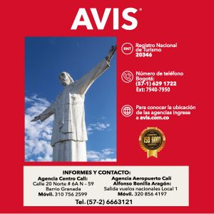 AVIS - 10% EN RENTA DE AUTOS TEMPORADA ALTA