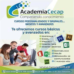 ACADEMIA CECAP - 10% CURSOS PERSONALIZADOS EN SEDE