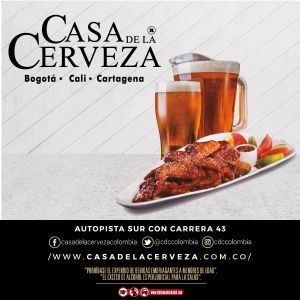 CASA DE LA CERVEZA - 15% EN LA CUENTA