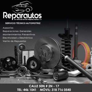 REPARAUTOS - 5% EN REPUESTOS